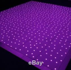 Led Starlight Dance Floor Hire Location De Lumières Clignotantes À Couleurs Changeantes De 10ft À 20ft