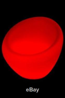 Luminatos 10, Led Fauteuil Lumineux De Changement De Couleur Leuchtsessel Télécommande