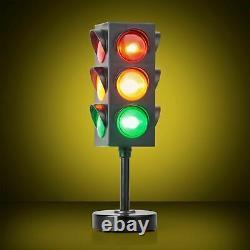 Lumo Traffic Light Lamp Night Kids Childs Colour Change Novelty Bedroom Gift