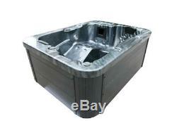 Luxe En Plein Air Whirlpool Bain À Remous Avec De L'ozone Chauffe-led Pour 2 3 Personnes Spa