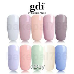 Marque New Gdi Nails Gamme Nude Uv / Led Soak Off Gel Vernis À Ongles, Manucure