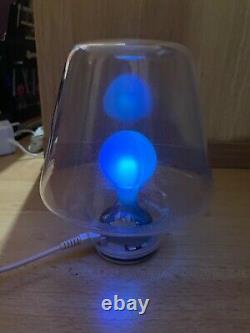 Mathmos Pop Light Blue To Green Looks Stunning Main Blown Glass Rare
