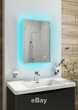 Miroir Inctouch De Capteur De Bluetooth Bluetooth De Changement De Couleur Ambiant De Turin 500x700mm