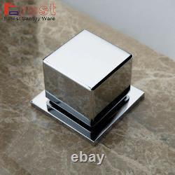Moderne Couleur Changeant Led Chrome Bathroom Bassin Évier Mixer Robinet Cascade Robinet