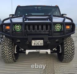 Monster Stage 3 Phares À Led Jeep Wrangler Hidprojecteurs Changement De Couleur 7