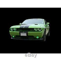Multi-changement De Couleur Led Rgb Halo Lampe Frontale Bague Pour 2008-14 Dodge Challenger