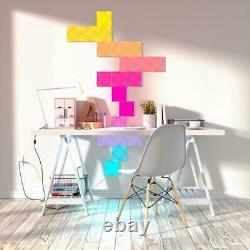 Nanoleaf Canvas Smarter Kit Light Squares Couleur Changement D'ampoule Led (9-modular)