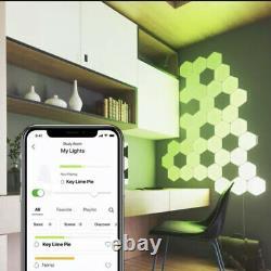 Nanoleaf Hexagon Couleur Changer Les Panneaux Lumineux Smarter Kit 7 Panneaux