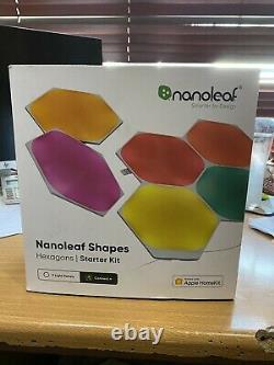 Nanoleaf Nl42-0002hx-9pk Panneaux Lumineux Led En Forme D'hexagone 9 Pcs Multicolore