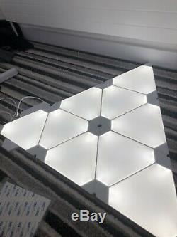 Nanoleaf Panneaux Lumineux 9 Panneaux Smarter Kit Boxed