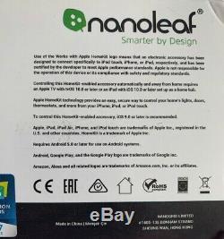 Nanoleaf Panneaux Lumineux Smarter Kit Rhythm Édition 9 Paquet