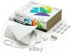 Nanoleaf Rhythm Smarter Kit Couleur Led 9 Lumières Changeantes Triangle Panneaux Lumineux