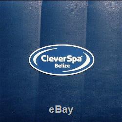 New Clever Spa Belize Place 6 Personne Bain À Remous Et Lumières Led Marque New Lay Z Spa