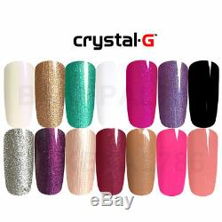 New Crystal-g Premium Classique G-range Uv / Led Gel Vernis À Ongles, 8ml Chaque Bouteille