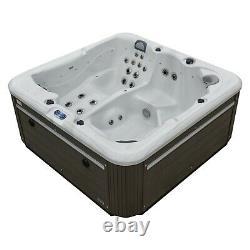 New Palm Spas Cosmo+ Luxury Hot Tub Spa 6 Seat American Balboa 32amp Led Music