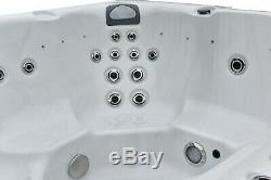 New Palm Spas Cosmo + Luxury Spa Spa 6 Musique Seat Américain Balboa Led