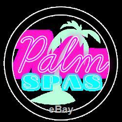 New Palm Spas De Luxe Elise Spa Spa 6 Sièges Américain Balboa Musique Led