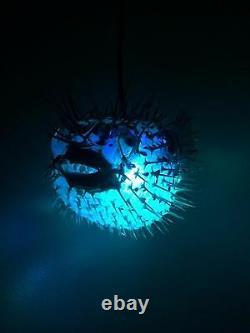 Nouveau 17! Puffer Fish Lamp Withcolor Changement Led Light Tiki Bar Smokin Tikis Fx