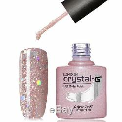 Nouveau Crystal-g Diamant Bling Glitters D Gamme D-16 Uv / Led Gel Vernis À Ongles