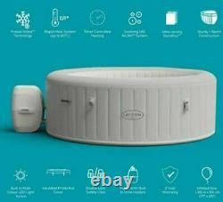 Nouveau Lay Z Spa Paris 2021 4-6 Personne Hot Tub Spa Led Lumières Gel Bouclier