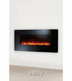 Nouveau Led Beldray Eh1162 36 Changement De Couleur Led Mur Électrique Incendie Autonome 1500w