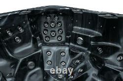 Nouveau Palm Spas Tropic Luxury Hot Tub Spa 7 Seat American Balboa Music 32amp Leds