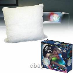 Nouvelle Couleur En Peluche Super Douce Changeant Led Lumière Vers Le Haut Oreiller Blanc Coussin D'oreiller