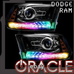 Oracle Dynamic Colorshift Drl & Turn Signal Remplacement Pour 2013-2018 Dodge Ram