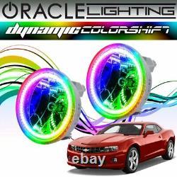 Oracle Dynamic Colorshift Led Fog Light Halo Kit Pour 2010-2013 Chevy Camaro