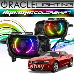 Oracle Dynamic Colorshift Led Phare Halo Kit Pour 2010-2013 Chevy Camaro