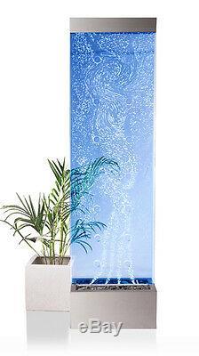 Orion Bubble Autoportant Intérieur Mur Avec La Couleur Led À Couleurs Changeantes 183cm
