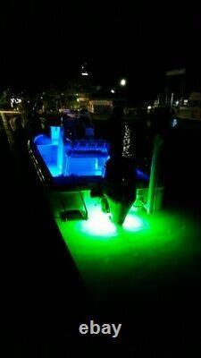 Oss Quasar Rgb Couleur Changer 8000 Total Lumens Sous L'eau Drain Plug Led
