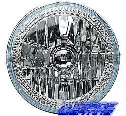 Paire De Phares H4 À Del Halo Angel Shift Angel 5-3 / 4 Rf Rgb Smd