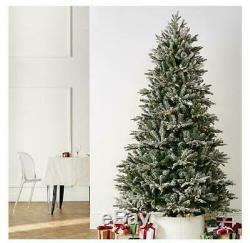 Pères Noël Meilleur Majestic Christmas Tree R / C Changement De Couleur Led Lumières Snowflock