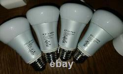 Philips Hue 4 Ampoules Blanches Et Couleur E26, 1 Lampe Bloom, 1 Pont Et 1 Mini Google