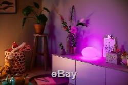 Philips Hue Flourish Led Lampe De Table Changement De Lumière Couleur Rvb Dimmable 4090431