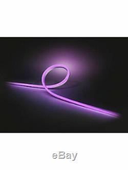 Philips Hue Lightstrip Extérieure, 19w, 5 Mètres Changement De Couleur (1008414)