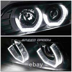 Pour 96-03 Bmw E39 Série 3d Rgb Color Change Lampes De Phare+outil Set Noir
