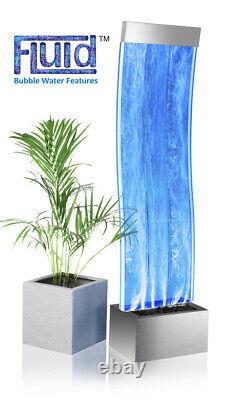 Primrose Bélier Courbé Mur D'eau Bulle Avec Changement De Couleur Lumières Leds