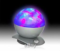 Projecteur De Couleur À Changement De Couleur Laser Sphere Led & Lazer Night Show Lamp