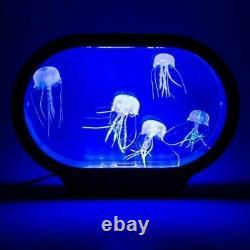 Réaliste Jellyfish Tank Lampe Lumière Réactive Couleur Changer D'humeur Accueil Aquarium