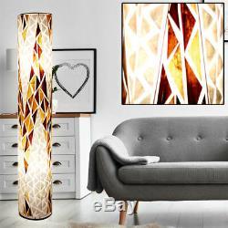 Rgb Led Lampadaire Télécommande Textile Plancher Lumière Dimmable Changement De Couleur