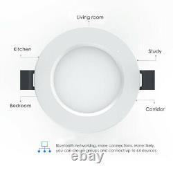 Rgb/withcw Led Encastré Panneau De Plafond Vers Le Bas Lumière Spot Lumière Couleur Changer Lampe