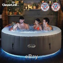 Royaume-uni Cleverspa Monte Carlo 6 Personnes Bain Led Hot Lay Z Spa Non Sainte-lucie Bali Hawaii
