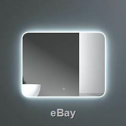 Salle De Bains Intelligente Miroir Changement De Couleur Led Lunette 3000k 4000k 6000k 700 X 900mm