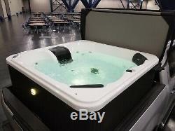 Saskatoon 12 Jet 4 Personne Plug & Play Acrylique Spa Led, Et L'ozone