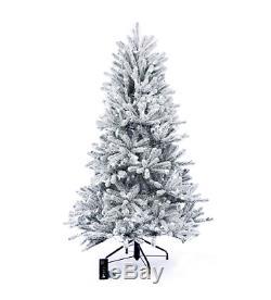 Sb10 7ft Santas Meilleur Neige Pré-jour Led Couleur Arbre De Noël Changing