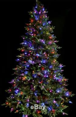 Sb30 7ft Santas Meilleur Pré-jour Couleur Changement Chaud Led Arbre De Noël