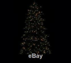 Sb8 7ft Pères Noël Meilleur Pre Lit Rustique Led Réaliste D'arbre De Noël Changent De Couleur