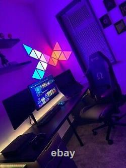 Smart Led Panel Lighting Kit Wifi Rgb Colour Changing App Control Alexa/google